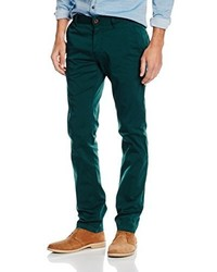 Pantalón chino verde oscuro de Boss Orange