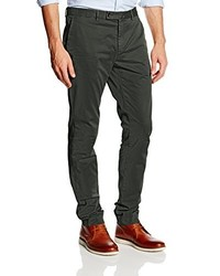 Pantalón chino verde oscuro de Hackett London