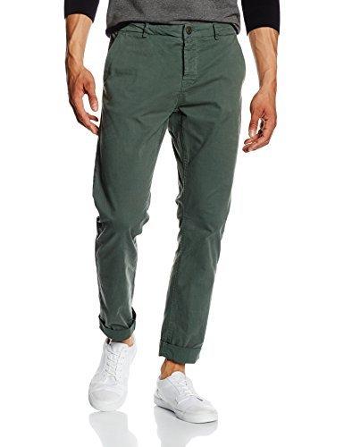 Pantalón chino verde oscuro de ONLY & SONS