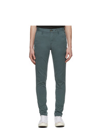 Pantalón chino verde oscuro de Rag and Bone