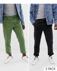 Pantalón chino verde de ASOS DESIGN
