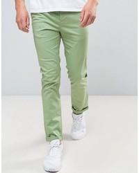 Pantalón Chino Verde de Asos