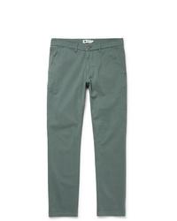 Pantalón chino verde de Nn07