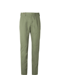 Pantalón chino verde de Zanella