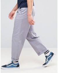 Pantalón chino violeta claro de Asos