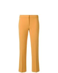 Pantalón de campana amarillo de Theory