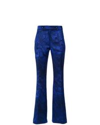 Pantalón de campana azul marino de Tufi Duek