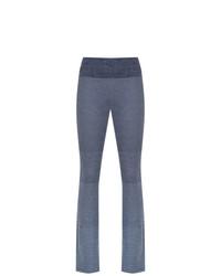 Pantalón de Campana Azul de Track & Field