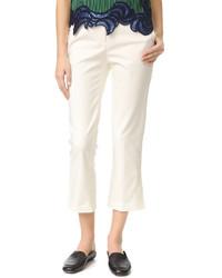 Pantalón de campana blanco de 3.1 Phillip Lim