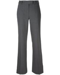 Pantalón de campana de lana en gris oscuro de MICHAEL Michael Kors