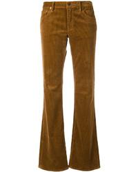 Pantalón de campana de pana marrón de Ralph Lauren
