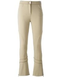Pantalón de campana marrón claro de Givenchy