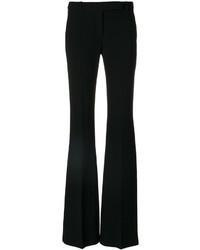 Pantalón de campana negro de Alexander McQueen