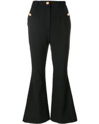 Pantalón de campana negro de Dolce & Gabbana