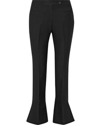 Pantalón de campana negro de Fendi