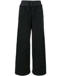 Pantalón de campana negro de MM6 MAISON MARGIELA