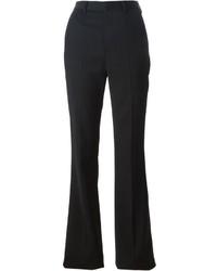 Pantalón de campana negro de Saint Laurent