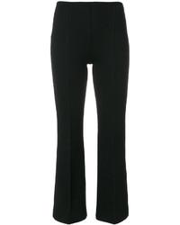 Pantalón de Campana Negro de Sonia Rykiel