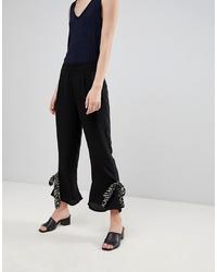 Pantalón de campana negro de Vero Moda