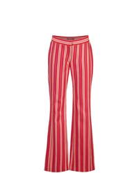 Pantalón de Campana Rojo de Derek Lam