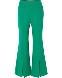 Pantalón de campana verde