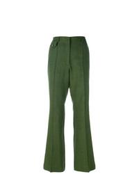 Pantalón de campana verde de Golden Goose Deluxe Brand