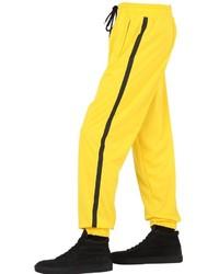 Pantalón de chándal amarillo