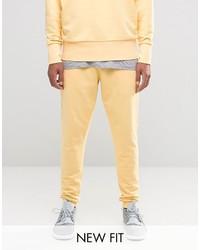 Pantalón de chándal amarillo de Asos