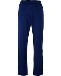 Pantalón de chándal azul marino de adidas by Stella McCartney
