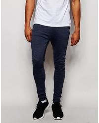 Pantalón de chándal azul marino de Asos