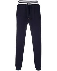 Pantalón de chándal azul marino de Brunello Cucinelli