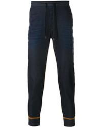 Pantalón de chándal azul marino de Ermanno Scervino