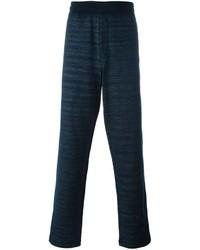 Pantalón de chándal azul marino de Missoni