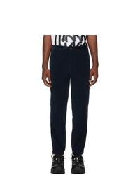 Pantalón de chándal azul marino de Moncler Genius