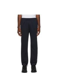 Pantalón de chándal azul marino de Moncler