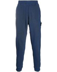 Pantalón de chándal azul marino de Stone Island