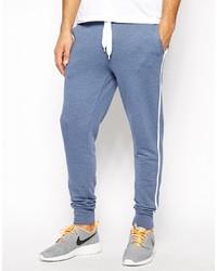 Pantalón de chándal azul de Asos