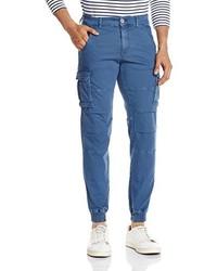 Pantalón de chándal azul de Gas