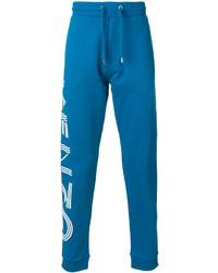 Pantalón de chándal azul de Kenzo