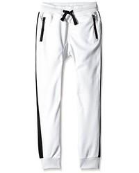 Pantalón de chándal blanco