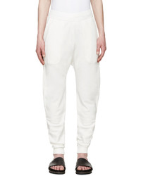 Pantalón de chándal blanco de Damir Doma