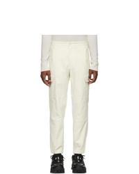 Pantalón de chándal blanco de Moncler Genius