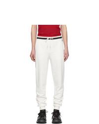 Pantalón de chándal blanco de Moncler