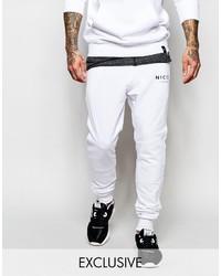 51a25707ef Comprar un pantalón de chándal blanco de Asos  elegir pantalones de ...