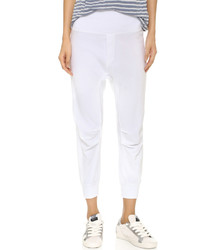 Pantalón de chándal blanco de Wilt