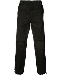 Pantalón de chándal bordado negro de MHI