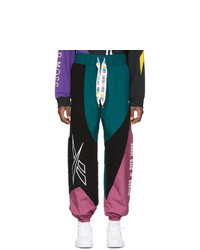 Pantalón de chándal bordado negro de Reebok By Pyer Moss