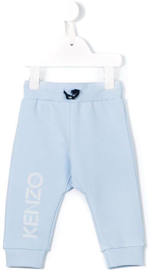 Pantalón de chándal celeste de Kenzo