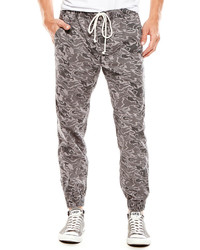 Pantalón de chándal de camuflaje gris
