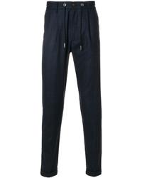 Pantalón de chándal de lana azul marino de Eleventy